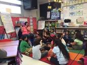 Cesar Chavez Read Aloud in Ms. Landini's Class