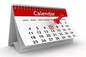 Post Your Calendar