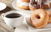 Circle over a cup of coffee & donuts!  In & out in 40+ minutes
