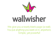 Wallwisher (now Padlet)