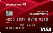 BankAmericard Cash Rewards™ Credit Card for Students