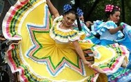Mexican dress.