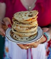 Zacatecas-style baked masa cakes (Gorditas Zacatecanas)