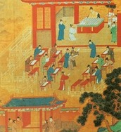 10. Describe the public education system in the Han Dynasty and what principles did it emphasize?