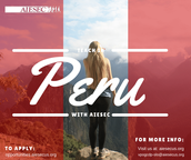 CONDUCT WORKSHOPS FOR YOUTHS IN PERU!