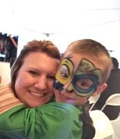 Jayla & son Liam @ Halloween