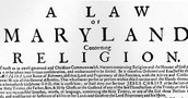 What was the Maryland Toleration Act?