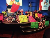 Donated Bikes Reward Foster ES Kids of Character