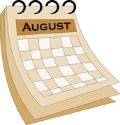 Welcome August...