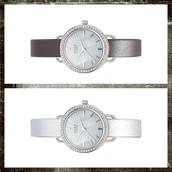 Round TimeKey Pave' Silver