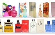 Brand name perfumes such  Versace, Curve, Gucci, Calvin klein, D&G etc
