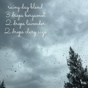 Spring diffuser blend 1 - For the rainy day blues