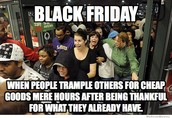 Friday November 29th is the start of the Black Friday sales.