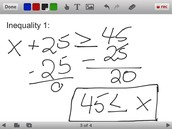 One-Step Inequality 1