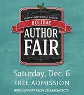 Indiana Historical Society Holiday Author Fair