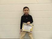 Mason Perez - Kindergarten