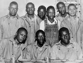 The Nine Scottsboro Boys who inspired the trial in the book