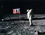 The First people on the moon