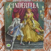 What happens at the beginning  at the story of Cinderella