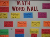 Student Created Word Walls