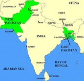 Pakistan before the Bangladesh war of Independence