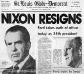 Resignation of Nixon
