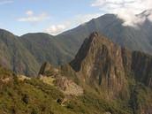 View from Sun Gate Trail, near Machu Picchu