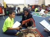 4th graders read to 2nd graders