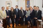 Reunión con funcionarios de la Junta de Andalucía