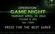 Operation Game Night