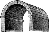 Pitched Brick Barrel Vault