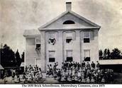 An old New England Schoolhouse