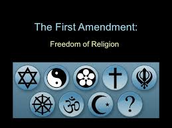The Freedom of Religion