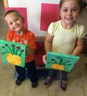 Finn and Mila Van Gogh