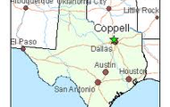 Map of Coppell