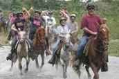Punta Cana River Horseback Riding and Zipline Tour