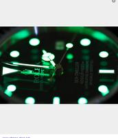 Self-luminous watch