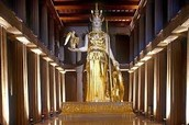 Representation of Athena Parthenos