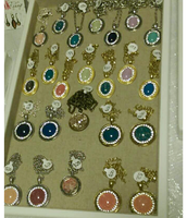 Painted Jeweled Cabochons