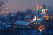 Vilna in winter