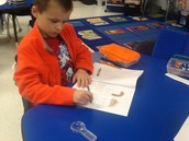 Recording in our science journals