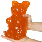 Giant Gummy Bears!