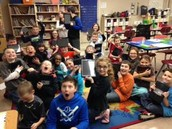 Mrs. Andrews' students' reaction to getting class iPads!