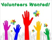 We are looking for Volunteers!