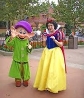 Dopey and Snow white