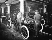 The Mass Produced Model T car