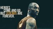 legends are phenomenaland are not forgottten