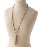 Milania tassle necklace $39