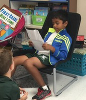 We learned that Rohan likes STEM and reading The Magic Tree House series