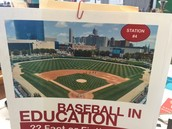 Baseball in Education Stations